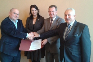 Podpisano umowę na budowę ulicy Górnej