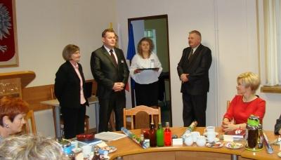 Lila Urynowicz uroczyście uhonorowana Medalem Starosty