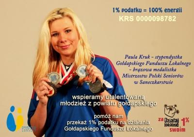 1% na rzecz Gołdapskiego Funduszu Lokalnego