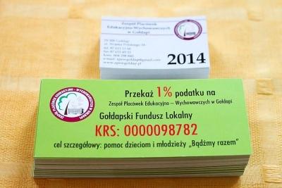 Przekaż 1 % ZPEW w Gołdapi