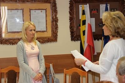 Nowa radna złożyła ślubowanie